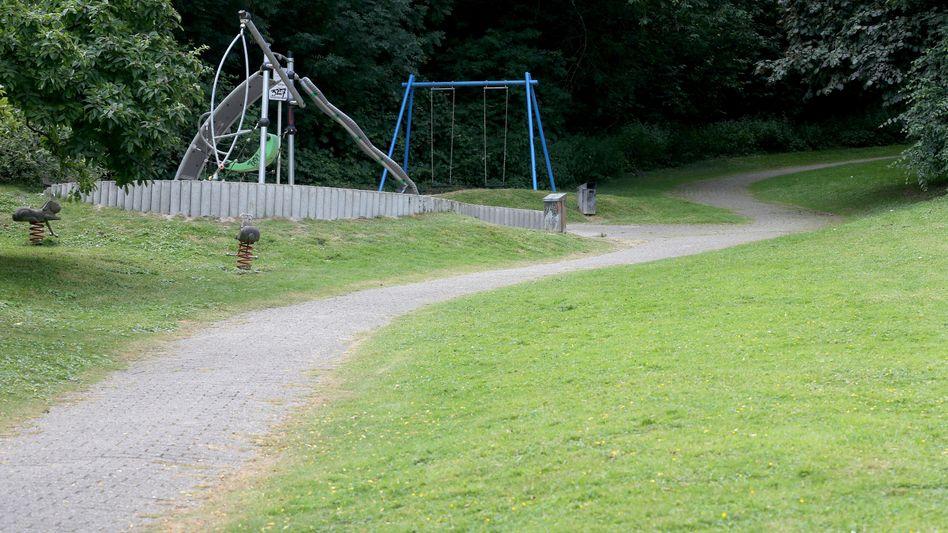 Spielplatz in Mülheim an der Ruhr: In der Nähe soll sich der Übergriff auf eine junge Frau ereignet haben
