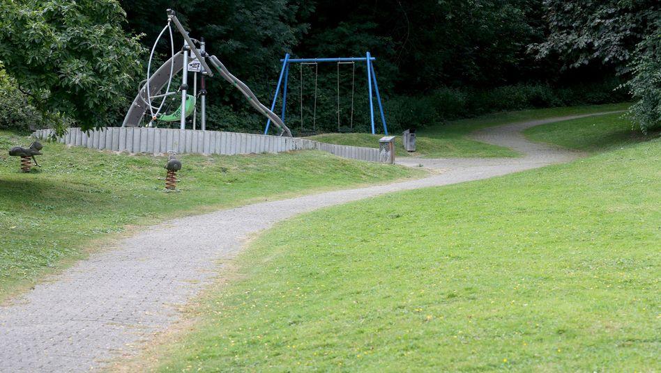 Spielplatz in Mülheim an der Ruhr: In der Nähe soll sich der Übergriff auf eine junge Frau ereignet haben.