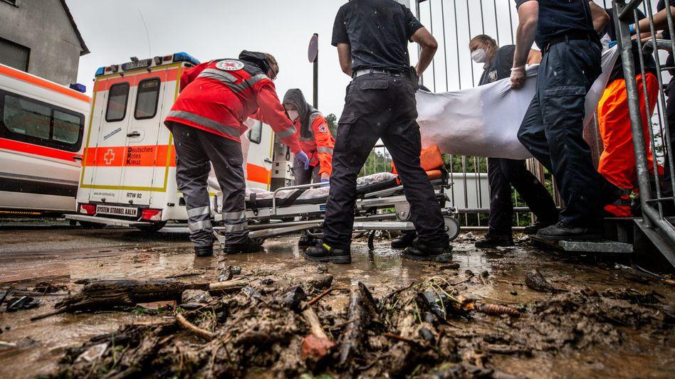 Rettungseinsatz in Altenheim in Hagen: Die Lage bleibt vielerorts extrem angespannt