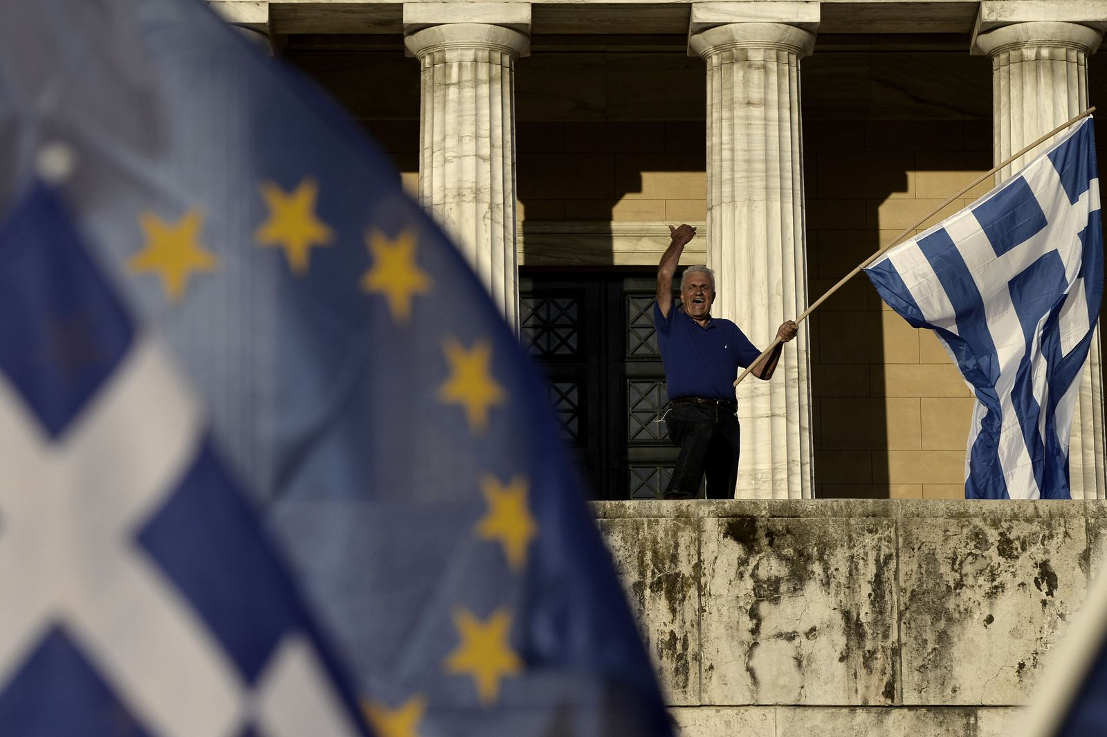 Proteste Griechenland