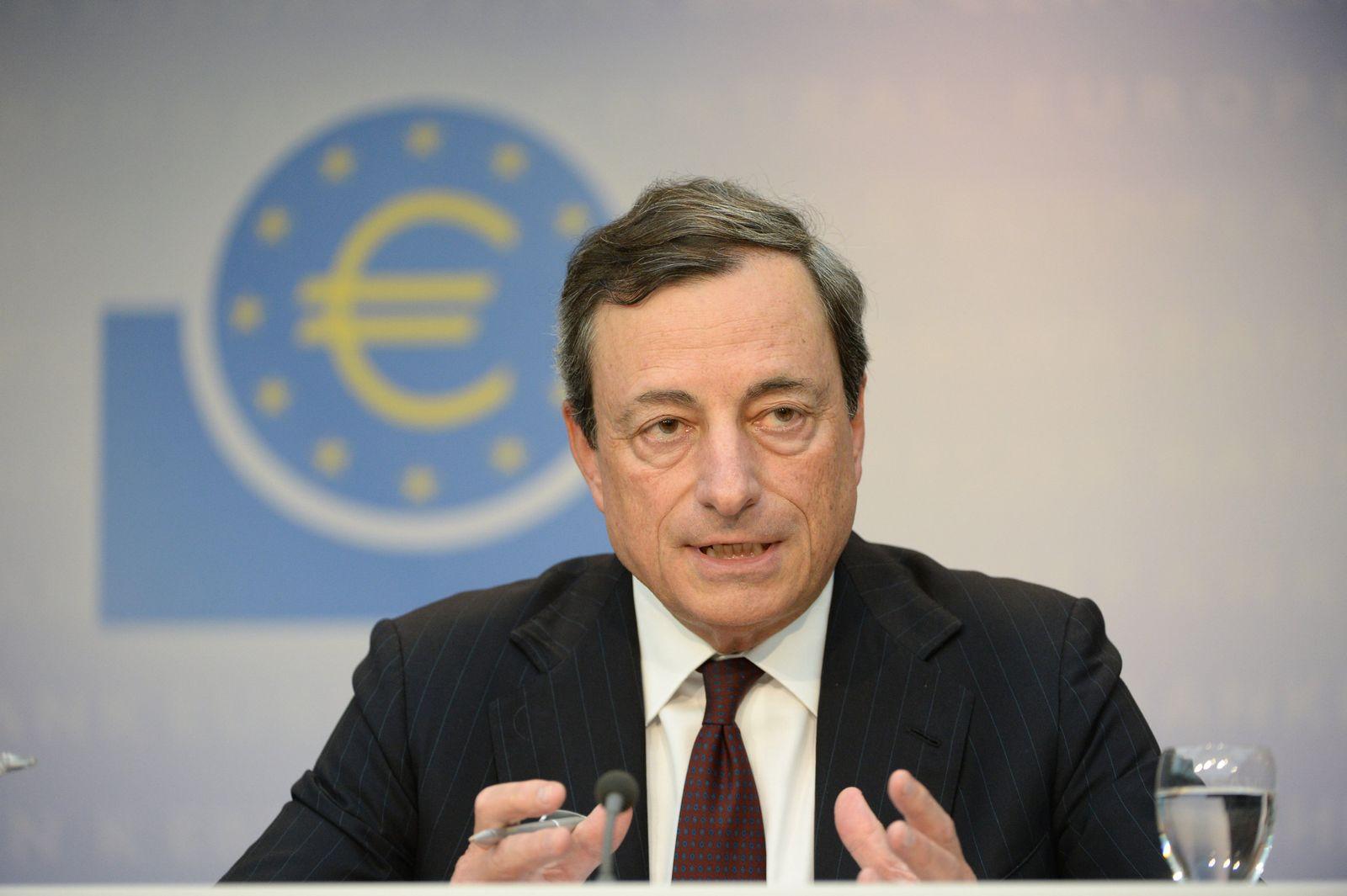 EZB-Ratssitzung / Mario Draghi