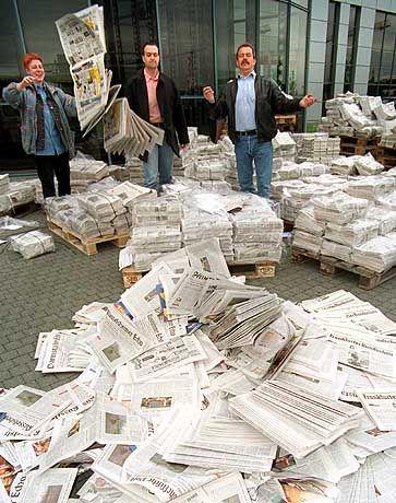 Zeitungen: In Zukunft nur noch elektronisch?