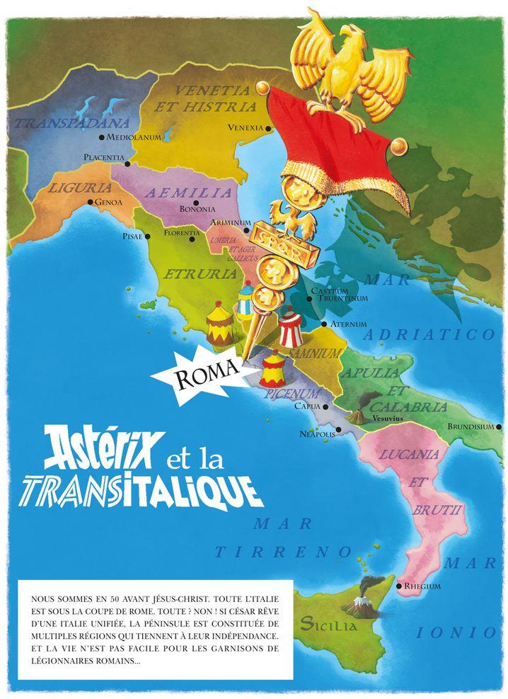 """""""Asterix in Italien"""": Ganz Italien ist von den Römern besetzt. Ganz Italien? Nein!"""