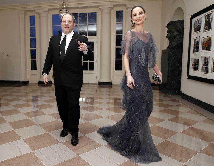 Weinstein und Chapman im Weißen Haus (2012)