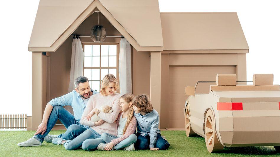 Weiße Kleinfamilie als vermeintliche Norm: Sehnsucht der Menschen, in der Masse unterzugehen