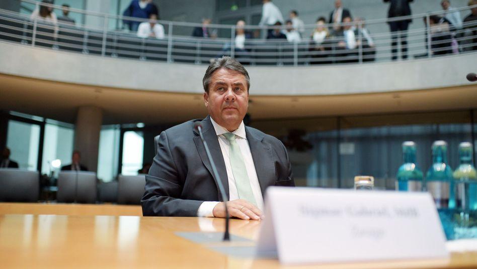 SPD-Chef Gabriel im Edathy-Ausschuss: Belastende Aussage