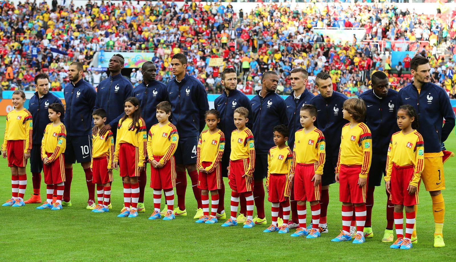 Frankreich vs Honduras/ Hymne
