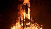 Ausschreitungen in Santiago de Chile - Kirchen in Brand gesteckt