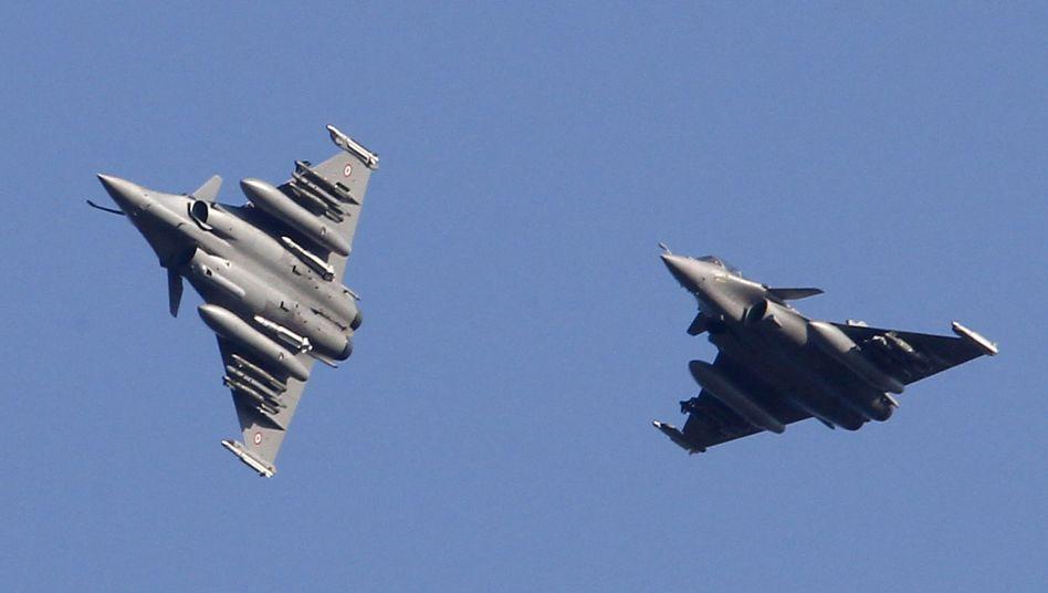 """Französische Rafale-Jets im Libyen-Einsatz: """"Jetzt sind wir in schlechter Gesellschaft"""""""