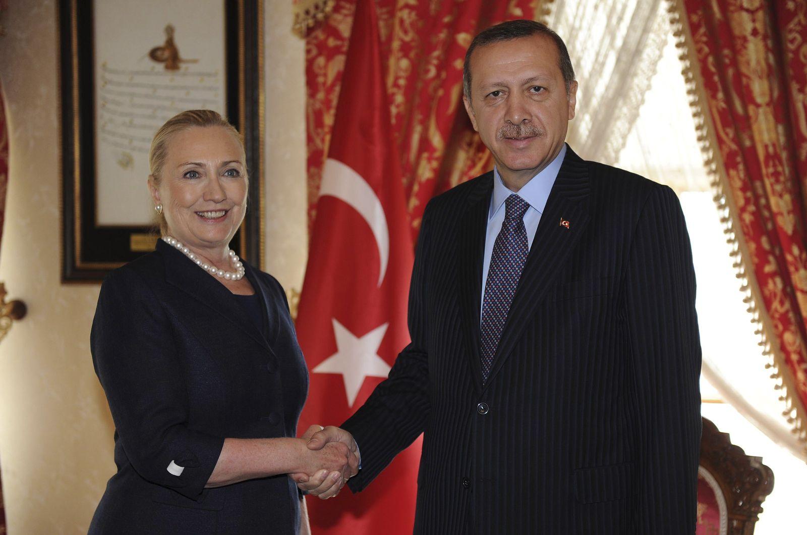 Erdogan Clinton