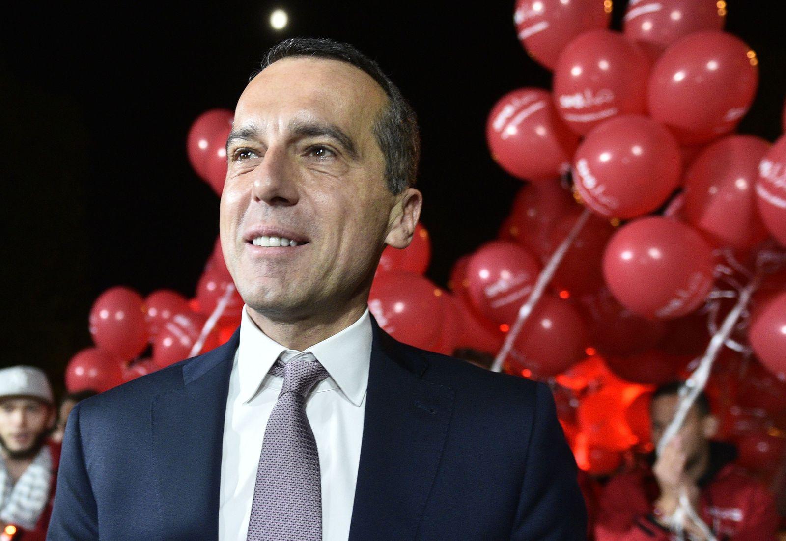 Wahl in Österreich/ Kanzler/ Christian Kern