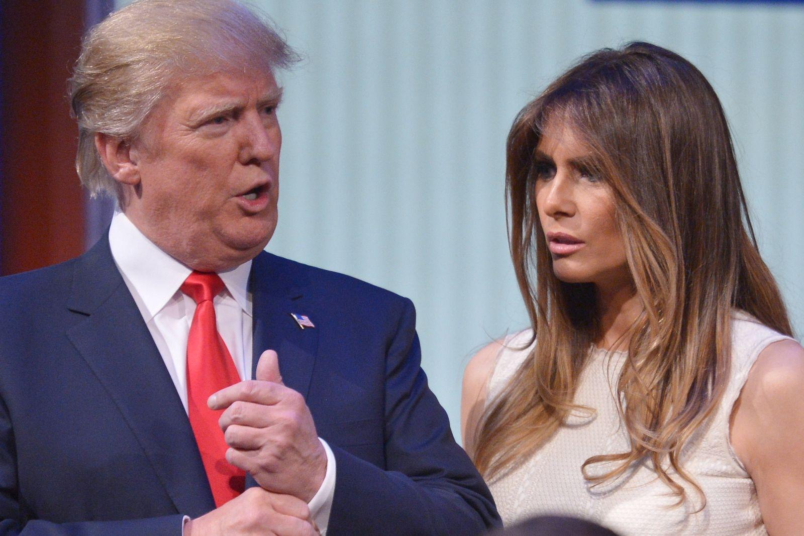 Donald Trump, Ehefrau Melania