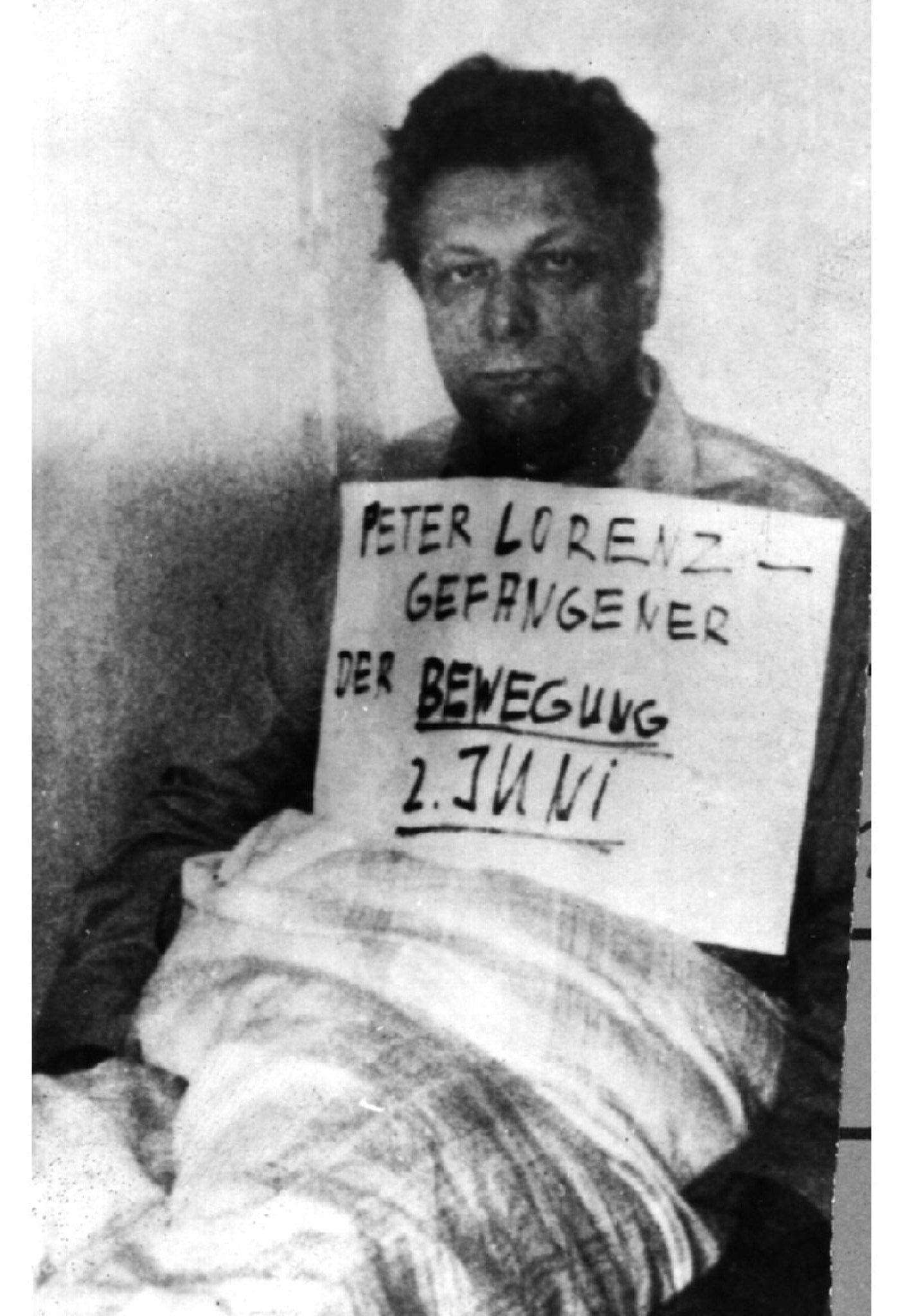 NUR FÜR EINESTAGES - EINESTAGES Entführter Peter Lorenz