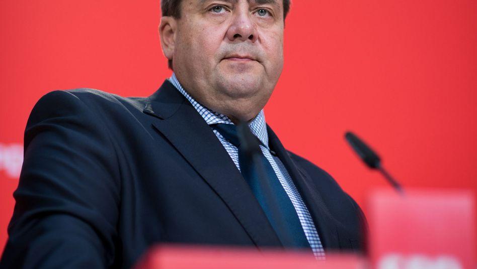 SPD-Chef Gabriel: Nervosität in der SPD