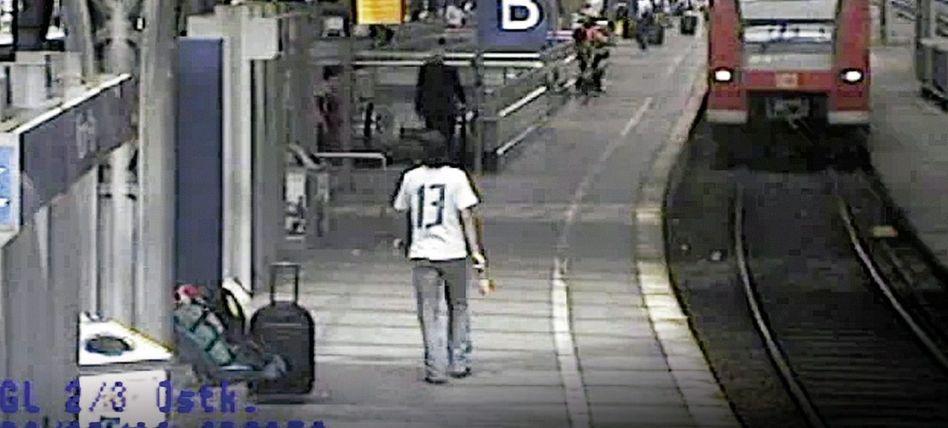 Attentäter auf dem Kölner Bahnhof 2006