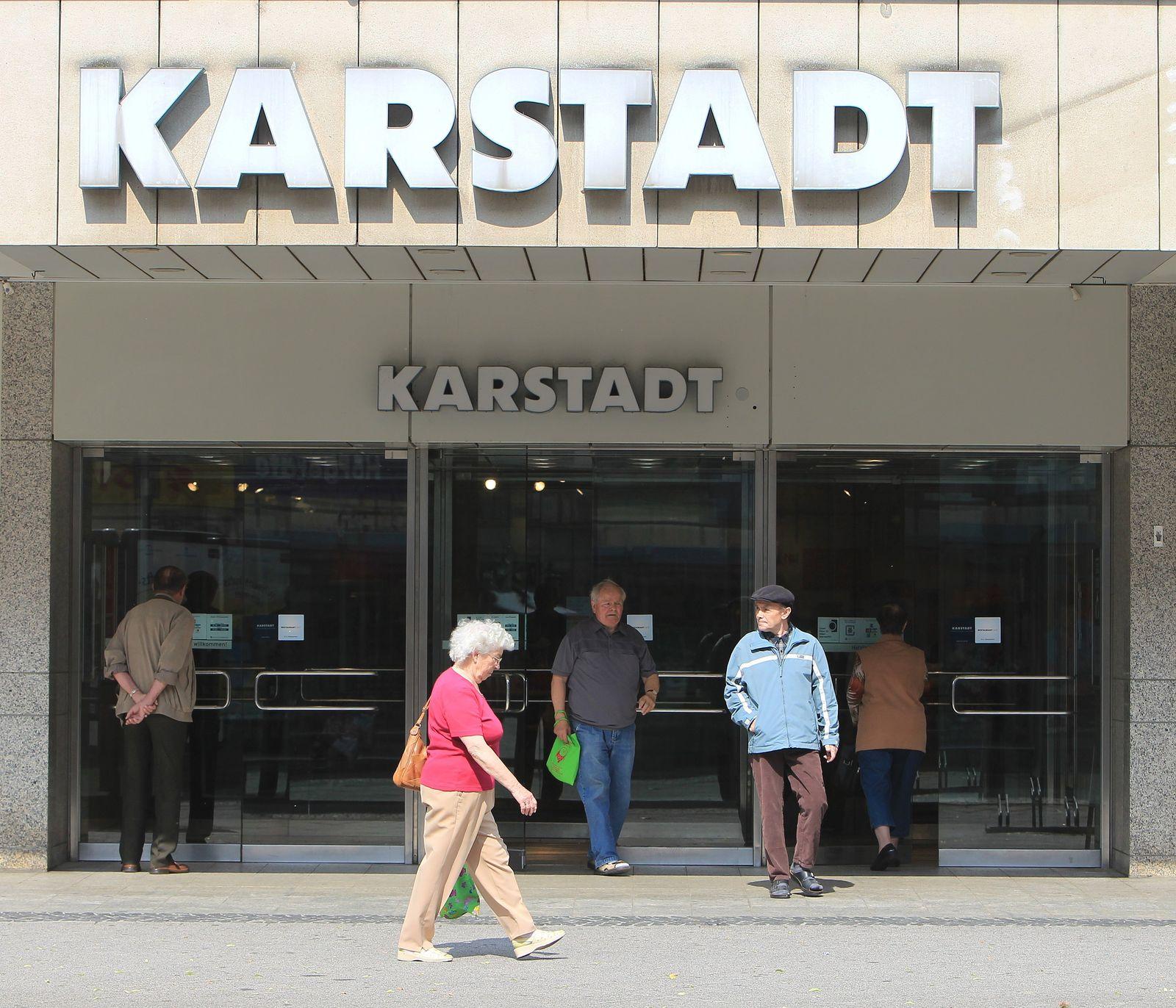 Sitzung der Karstadt-Gläubiger hat begonnen