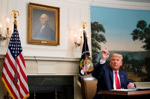 Trump in und vor Washington