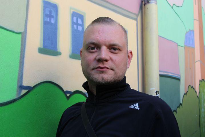 Philipp Spröte aus dem Demokratieladen in Kahla
