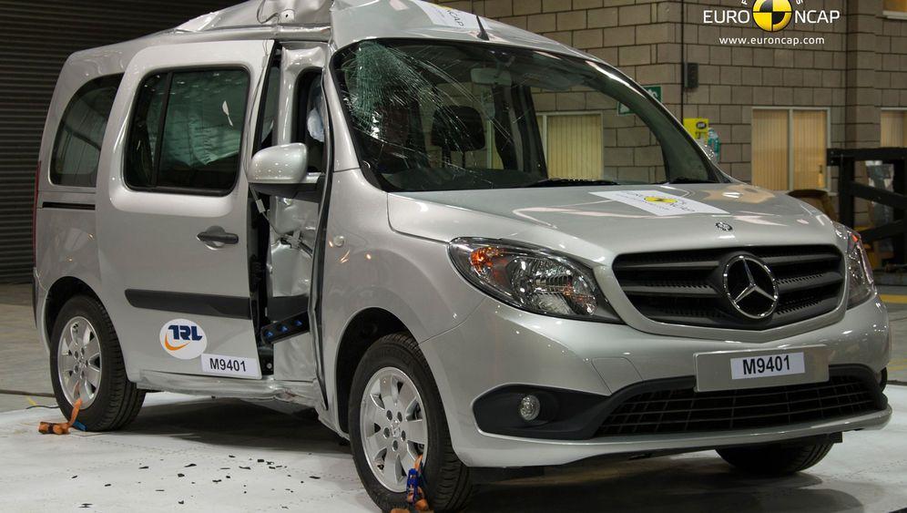 Mercedes-Kastenwagen Citan: Der Crashtest-Gau