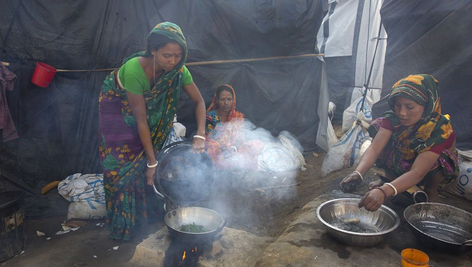 Hinduistische Flüchtlinge