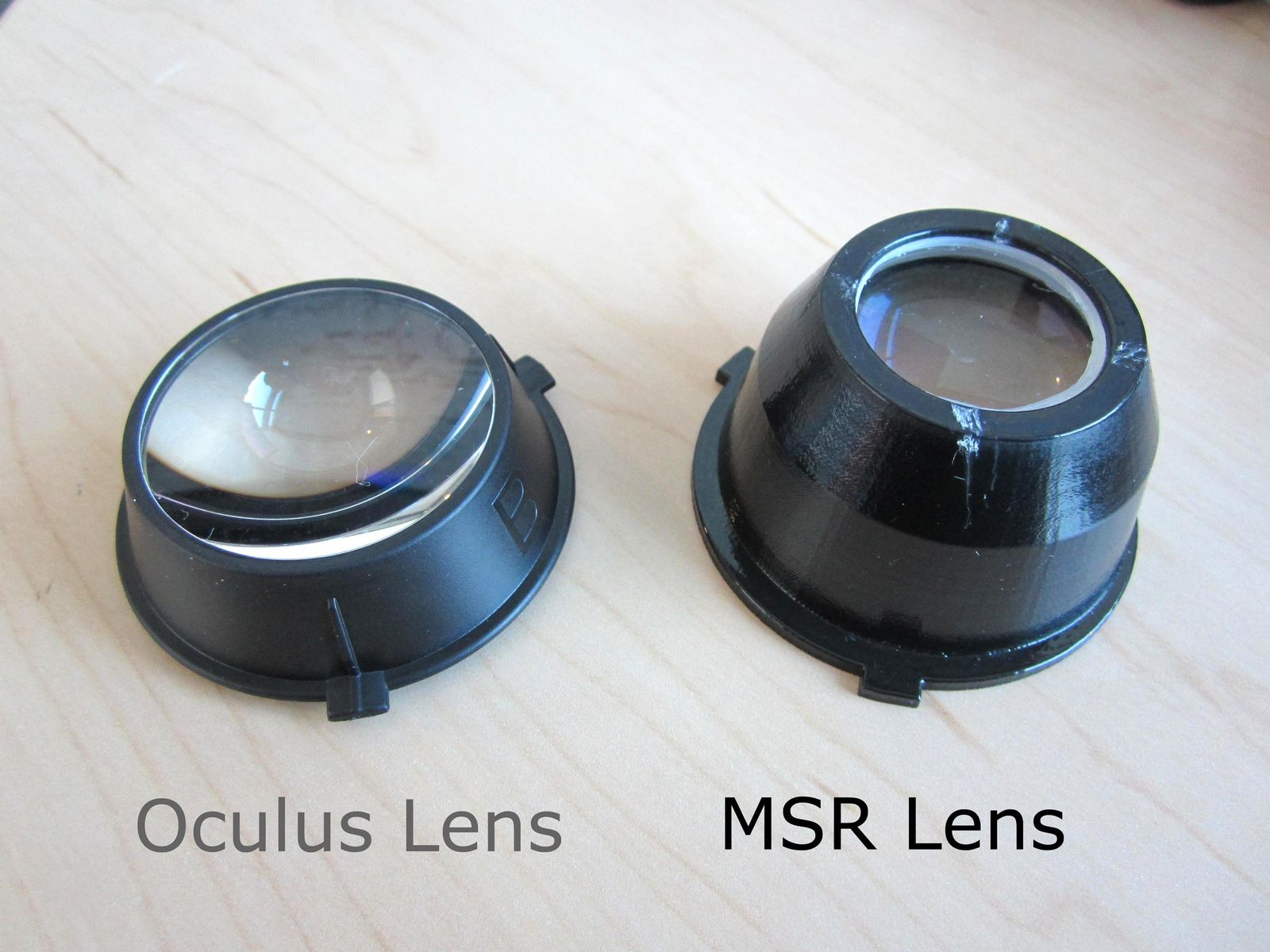 Microsoft-Linse für Oculus Rift