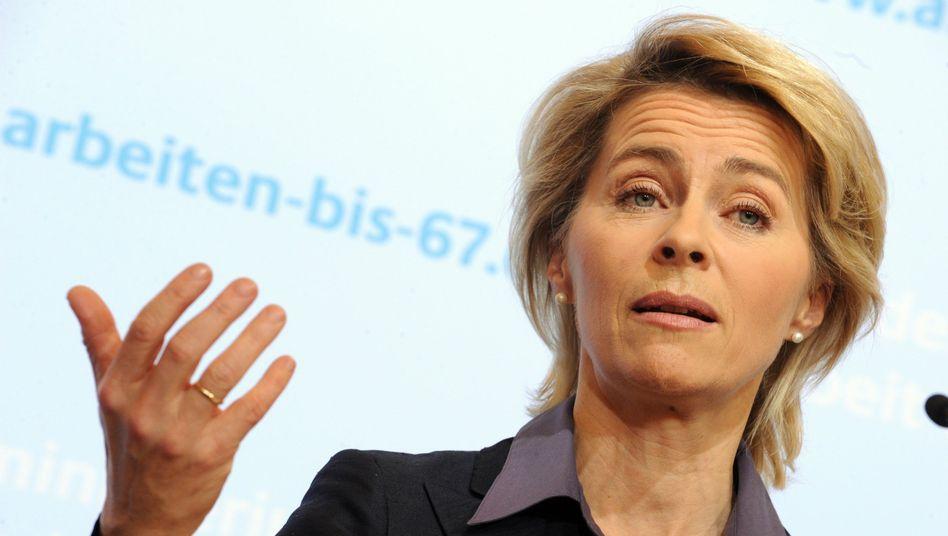 """Arbeitsministerin von der Leyen: """"Die Gewinner am Arbeitsmarkt"""""""