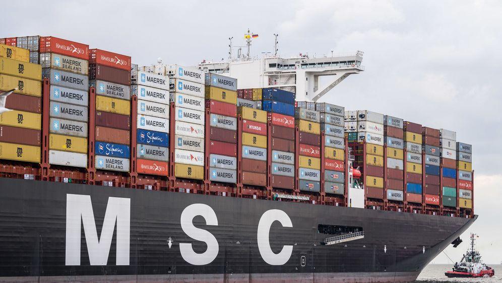 "Containerschiff ""MSC Gülsün"": So lang, so breit, so groß"