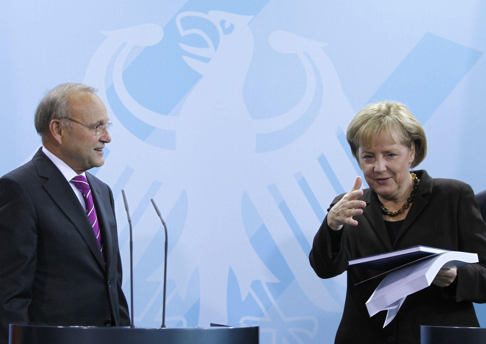 Angela Merkel / Wolfgang Franz