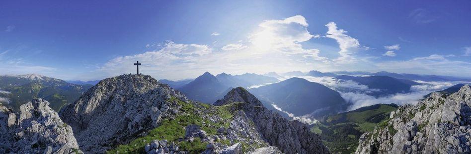 Gipfel des Bosruck in den Alpen