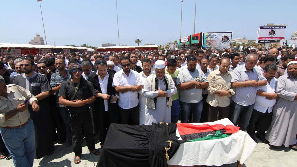 Trauerfeier für Musmari: Abd al-Salam al-Musmari