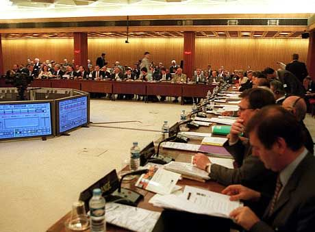 Negative Anmerkungen getilgt: OECD-Konferenz in Paris