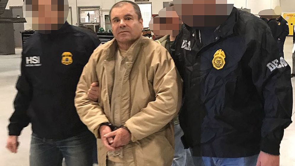 "Joaquín ""El Chapo"" Guzmán: Zweimal entflohen, nun vor Gericht"