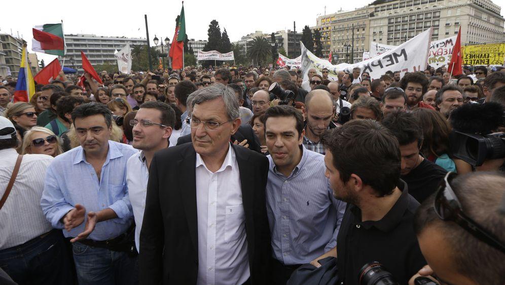 Auftritt in Athen: Kritik an Linken-Chef Riexinger