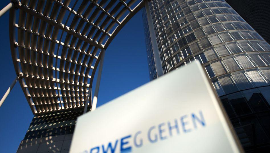 RWE-Zentrale in Essen: Milliardenschwere Verluste