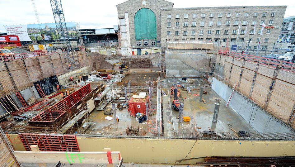 Baustelle Stuttgart 21: Streit über die Mehrkosten
