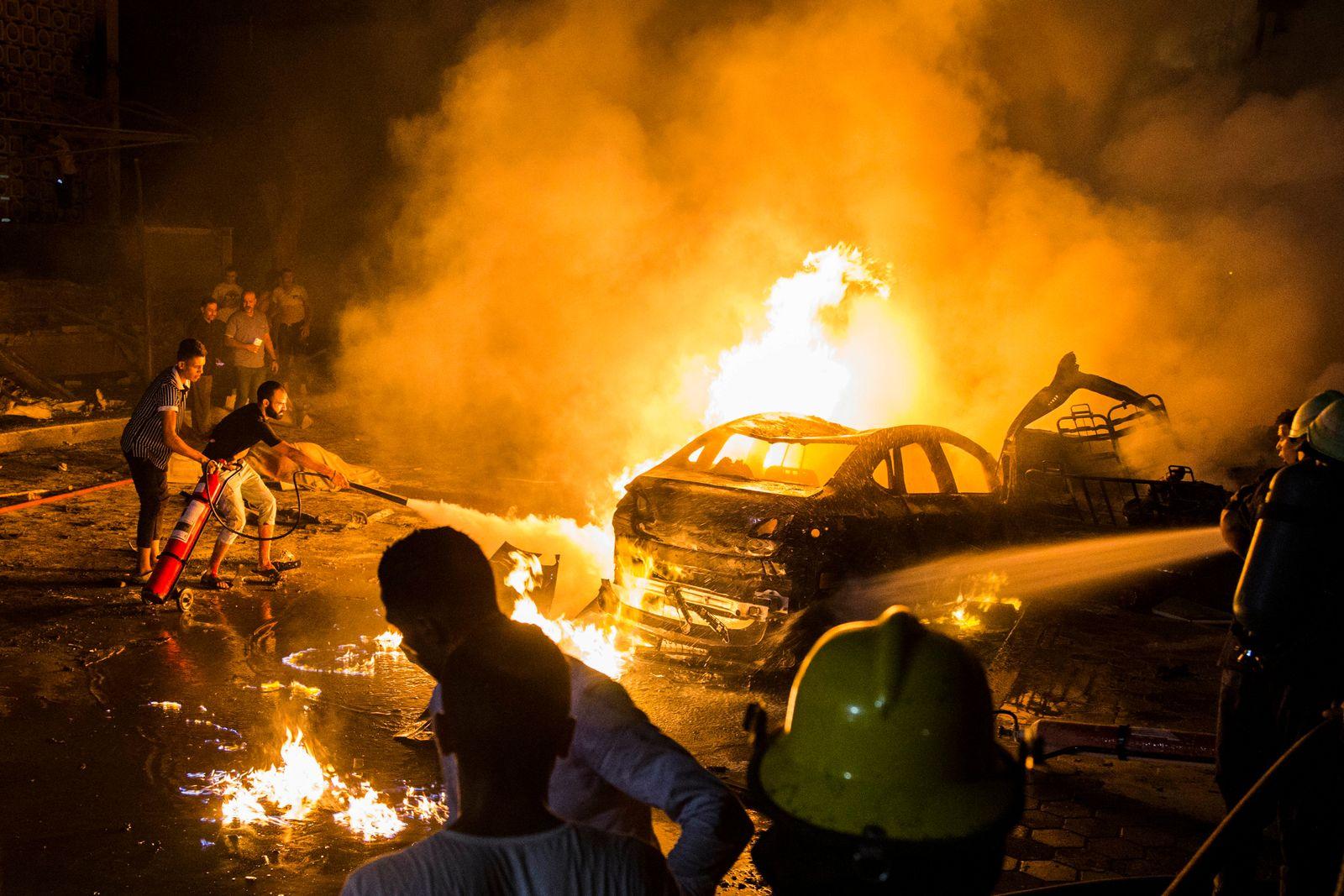 Kairo/Unfall/Explosion