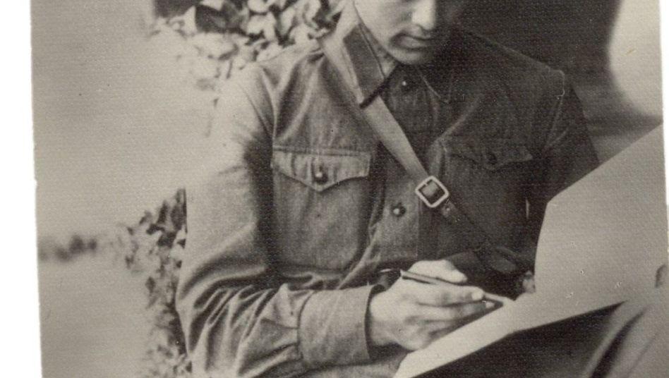 Rotarmist in der Ukraine 1941