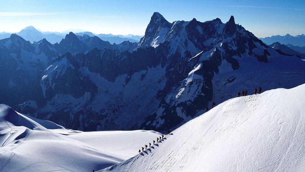 Mont-Blanc-Massiv: Erfrierungstod auf 4000 Meter Höhe