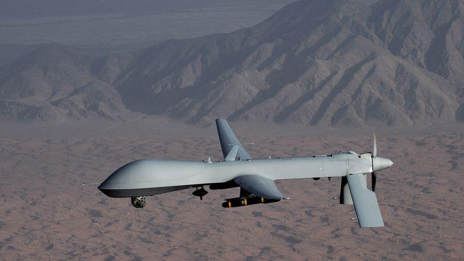 """Amerikanische """"Predator""""-Drohne: Auch gegen Kriminelle im Einsatz"""