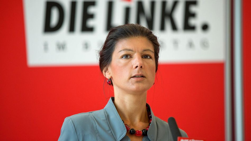 """Fraktionschefin Wagenknecht: """"Ganz klar Position der Linken"""""""