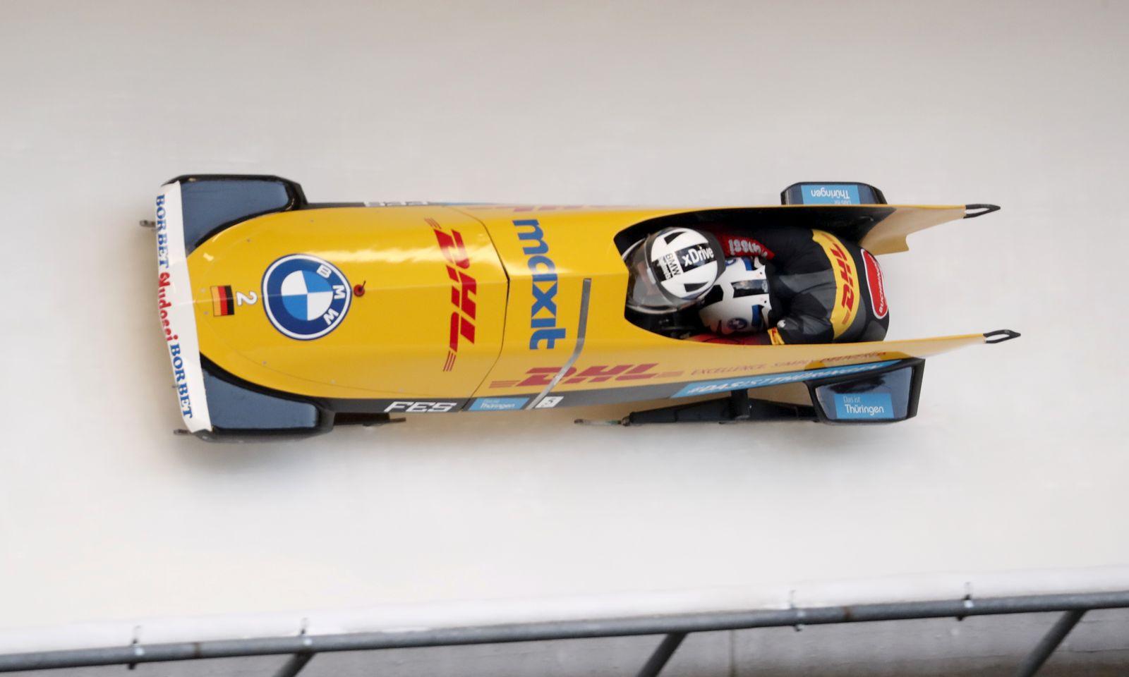 Bobsleigh BMW IBSF World Cup, Sigulda, Latvia - 21 Nov 2020
