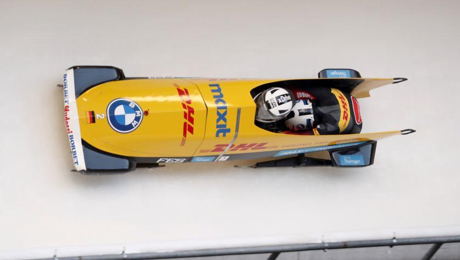 Mariama Jamanka holte sich ihren sechsten Weltcuperfolg