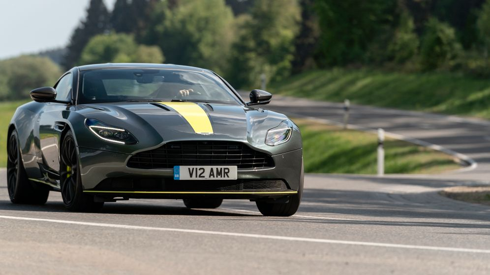 Autogramm Aston Martin DB11 AMR: Rasender Gentleman