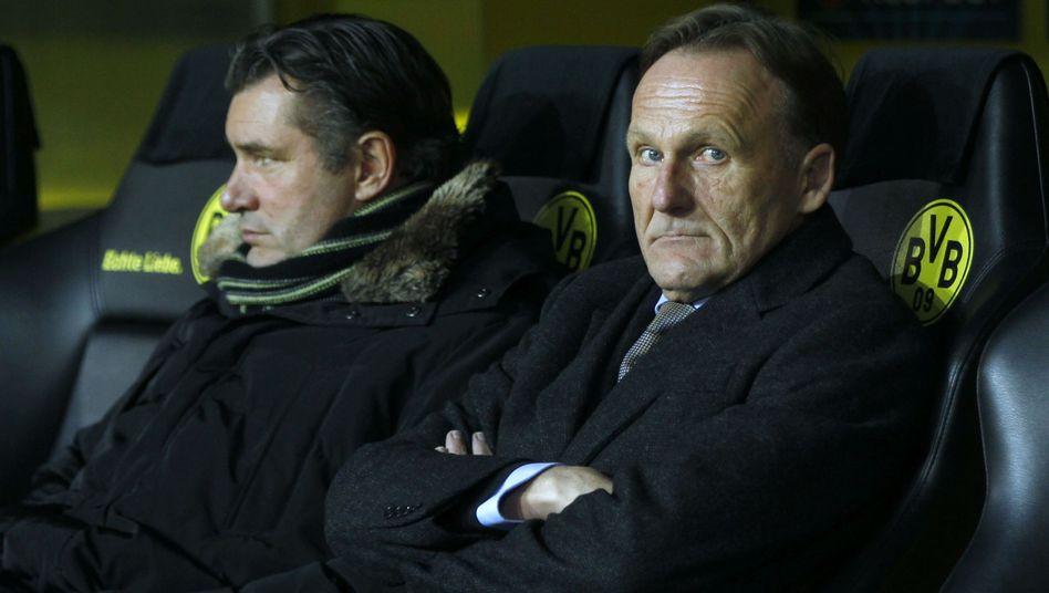 Dortmund-Boss Watzke (r.): Festhalten an Lewandowski
