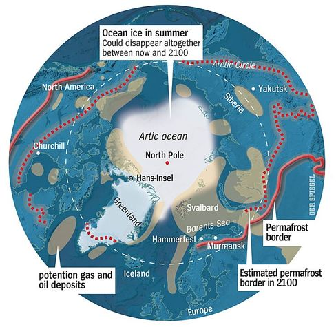Graphic: the Arctic Circle