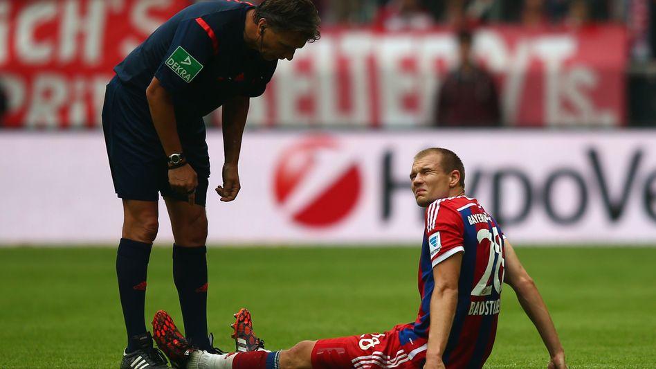 Bayern-Star Badstuber: Saisonaus nach Muskelriss