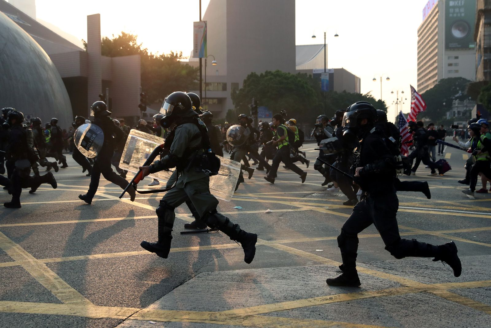Hongkong Proteste