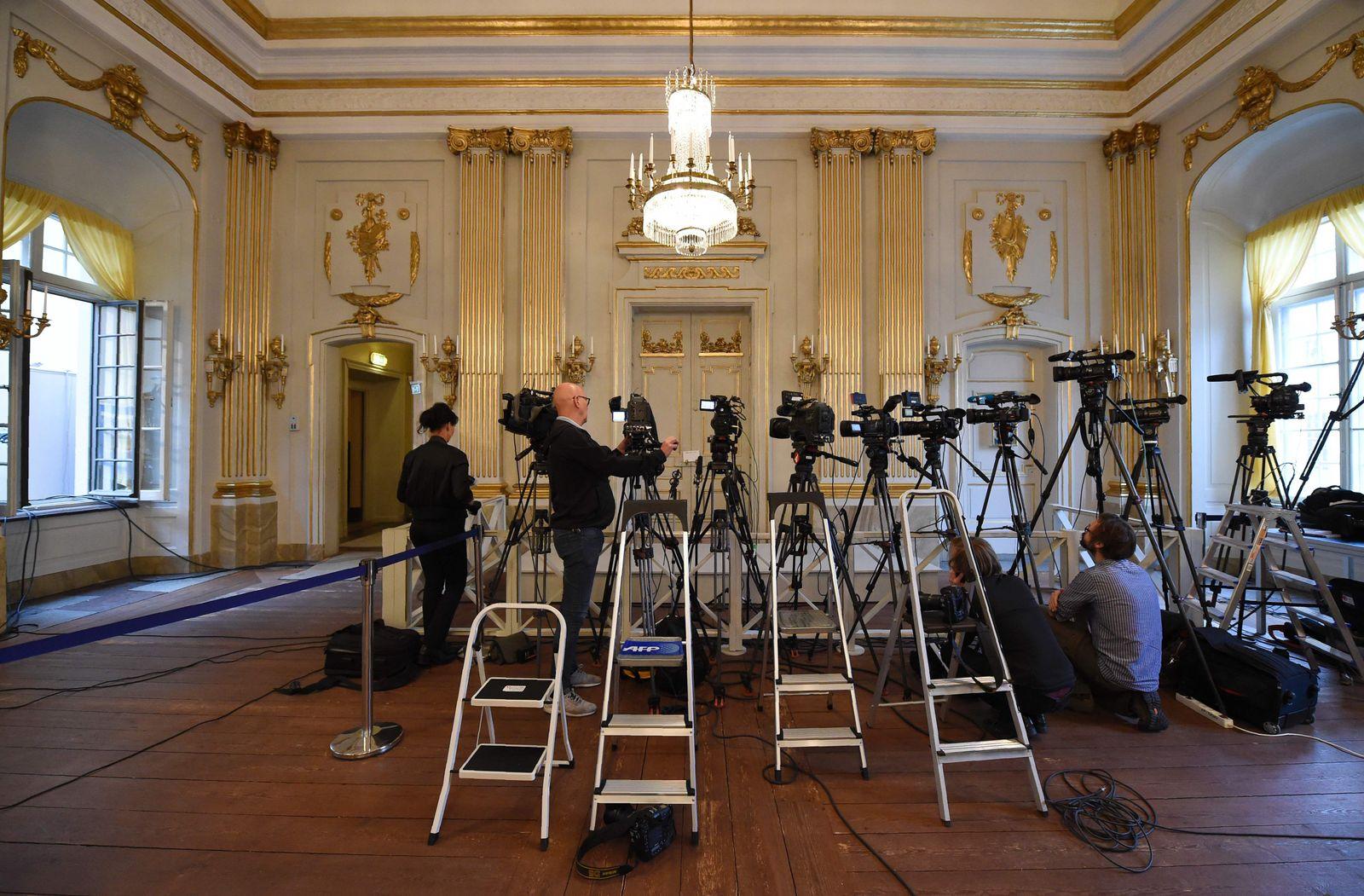EINMALIGE VERWENDUNG Schwedische Akademie/ Konferenzraum