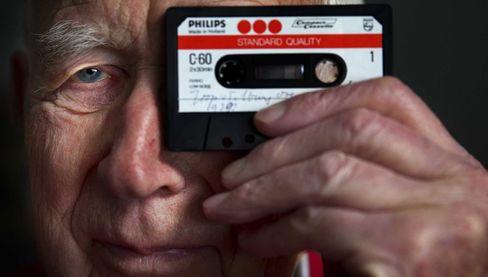 Band-Scheiben-Trauerfall: Lou Ottens war auch an der Erfindung der CD beteiligt
