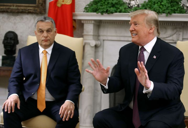 U.S. President Donald Trump recently heaped praise on Hungary's right-wing populist Prime Minister Viktor Orbán during the latter's recent visit to the White House.